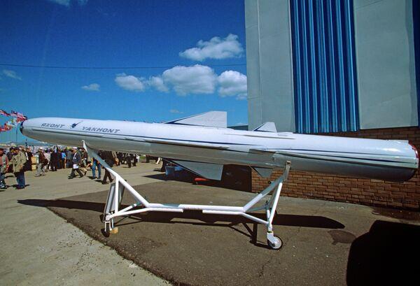 Противокорабельная ракета Яхонт. Архив