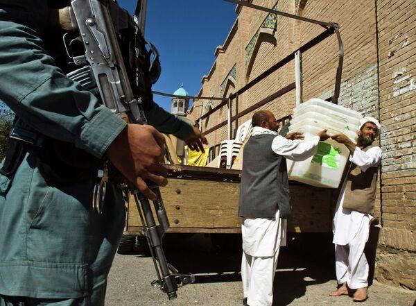 Парламентские выборы в Афганистане
