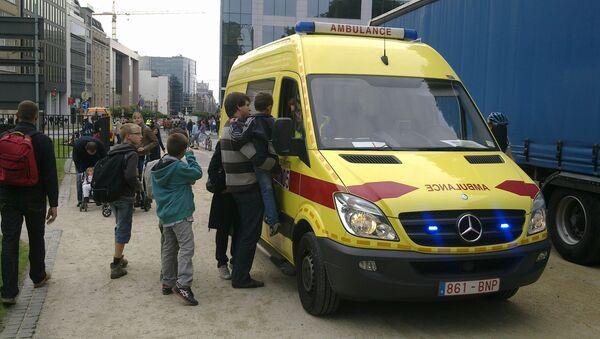 Скорая помощь в Брюсселе, архивное фото