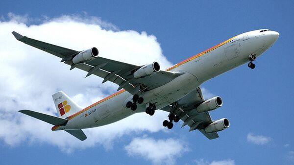 Самолет авиакомпании Iberia
