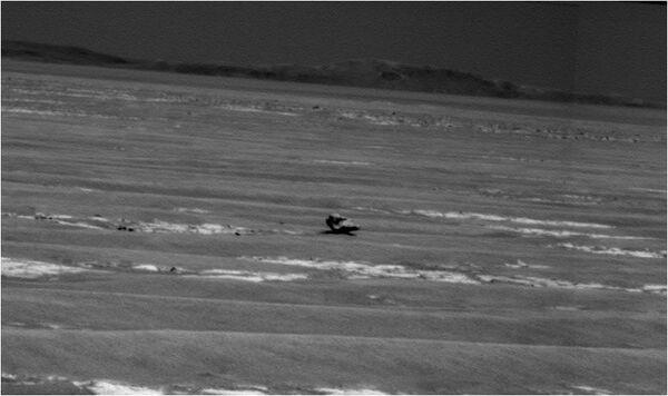Камень на поверхности Марса