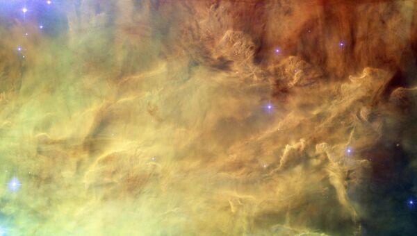 Процесс формирования звезд в туманности Лагуна. Архивное фото