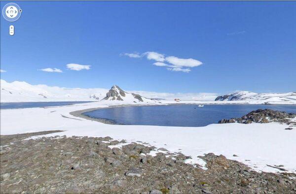 Google Street View пополнился панорамами Антарктиды