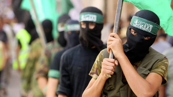 Боевики ХАМАС