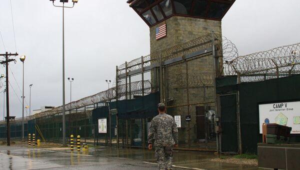 Американская тюрьма Гуантанамо на острове Куба. Архивное фото