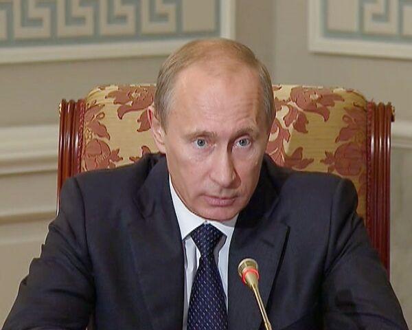 Путин сказал, кто должен задавать планку высшему образованию в России