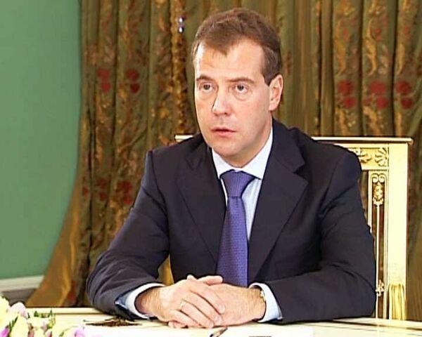 Медведев считает достойными всех четырех кандидатов на пост мэра Москвы