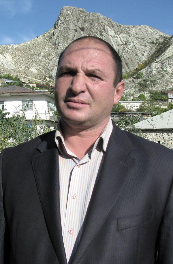 Глава дагестанского села Хаджалмахи Абдулмуслим Нурмагомедов, погибший в результате массовой драки.