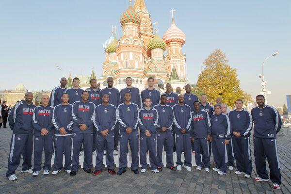 Визит команды New Jersey Nets в Москву