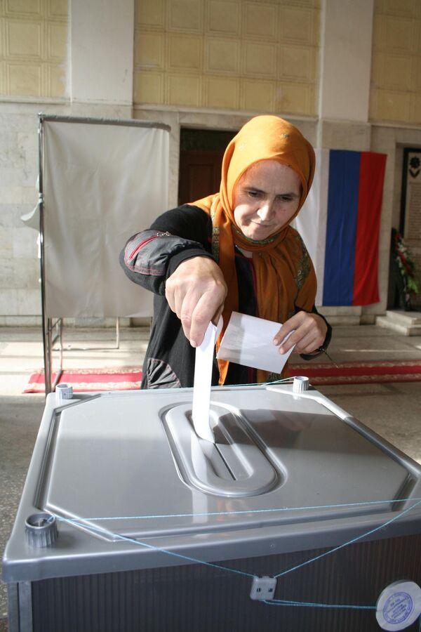 Выборы в республике Дагестан. Архив