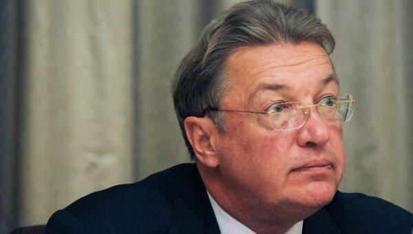 Пресс-секретарь Управления делами президента РФ Виктор Хреков. Архивное фото