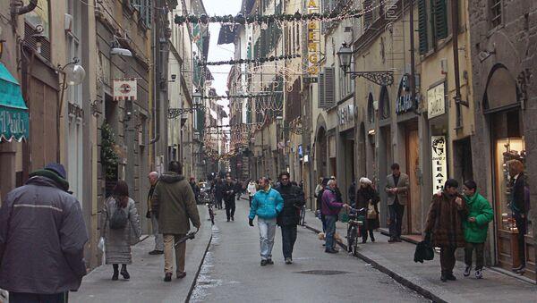 На улице Флоренции. Архив
