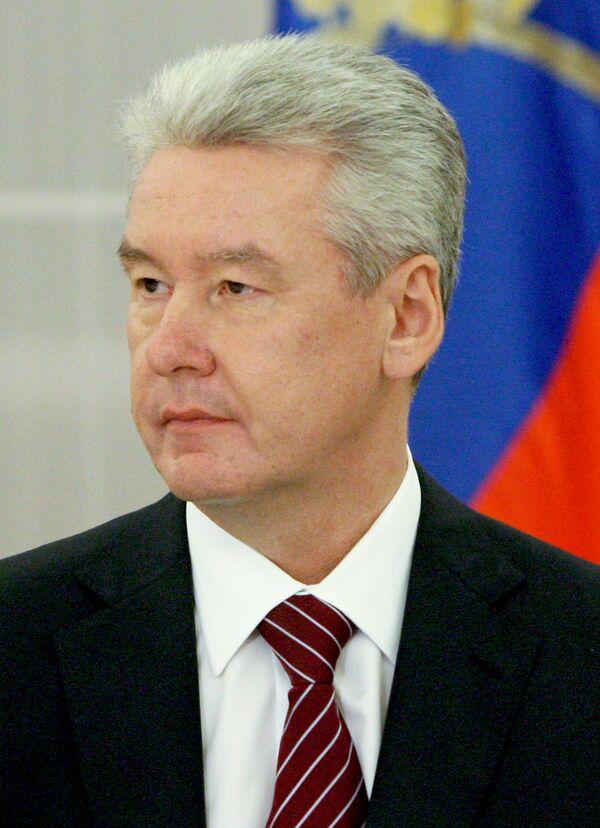 Вице-премьер РФ, руководитель аппарата правительства РФ Сергей Собянин