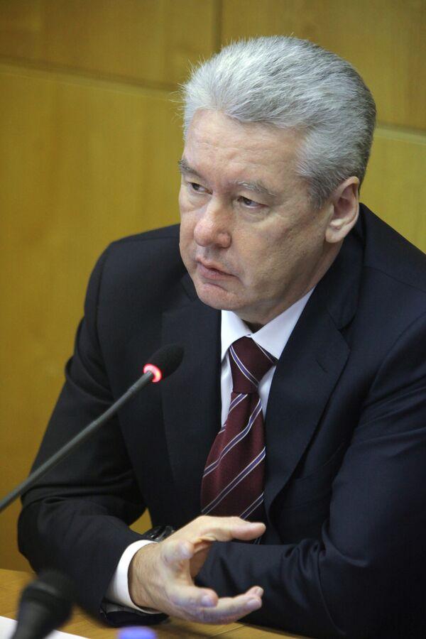 Кандидат на пост мэра Москвы Сергей Собянин. Архив