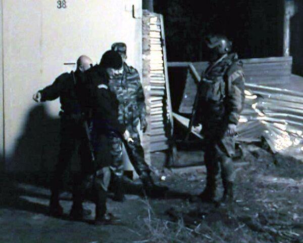 Подозреваемый в нападении на милиционеров отстреливался при задержании