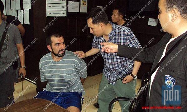 Задержанные россияне в полиции таиландского курортного города Паттайя