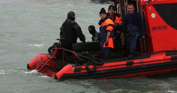 Судно «Василий» с 10 россиянами затонуло в Черном море у берегов Крыма