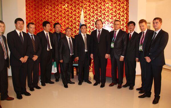Презентация проектов Красноярского края на выставке ЭКСПО-2010 в Шанхае