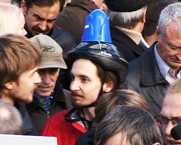 Оппозиция провела самый крупный митинг после отставки Лужкова