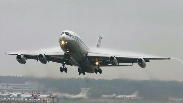 Самолет  Ил-86. Архивное фото