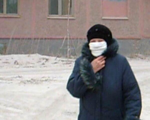 Усть-Камчатск засыпало плотным слоем пепла