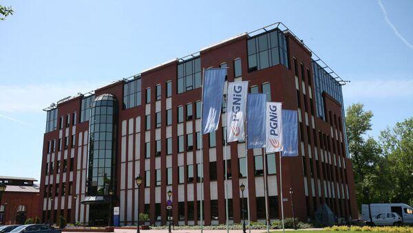 Здание PGNiG в Варшаве. Архивное фото