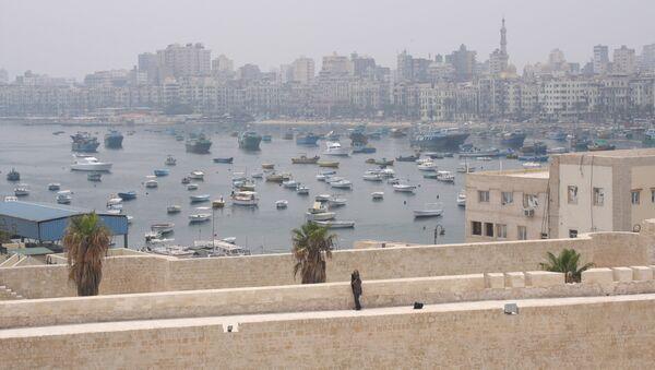 Вид на Александрию. Архивное фото