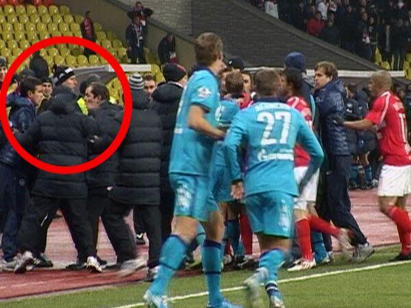 Избиение тренера Зенита Игоря Симутенкова