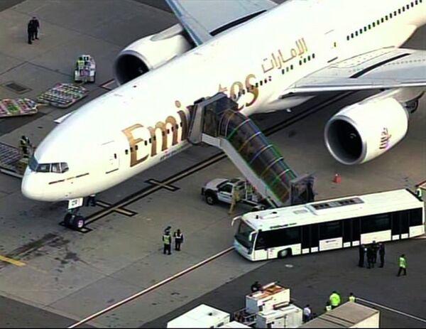 Подозрительный предмет был обнаружен на борту самолета компании UPS