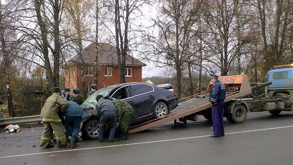 ДТП с участием служебной машины командующего ВДВ Владимира Шаманова