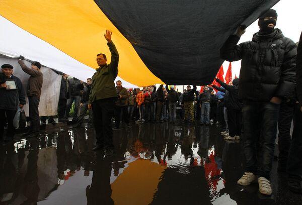 Русский марш националистических организаций прошел в Москве