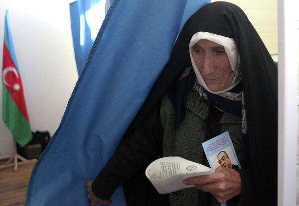 Выборы в парламент Азербайджана