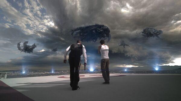 Сцена из фильма Скайлайн