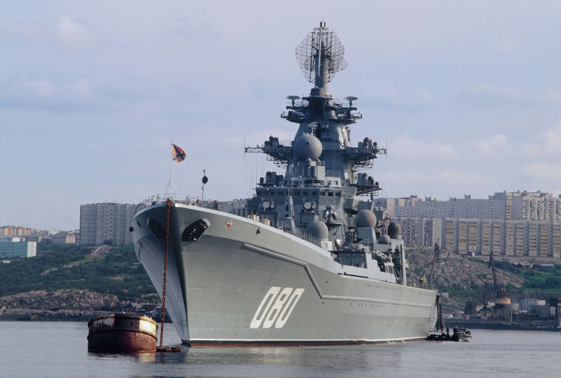 Тяжёлый атомный ракетный крейсер Адмирал Нахимов - РИА Новости, 1920, 14.01.2021