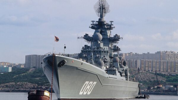 Тяжёлый атомный ракетный крейсер Адмирал Нахимов