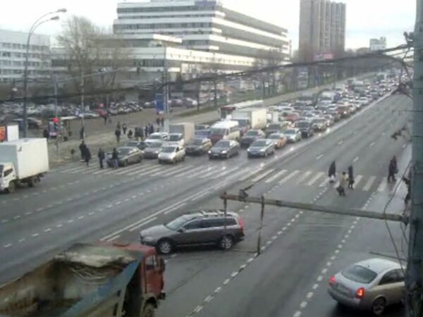 Сложные автомобильные развязки Москвы: Варшавское шоссе - Нагорный проезд