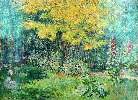 Картина Сад художника Клода Моне