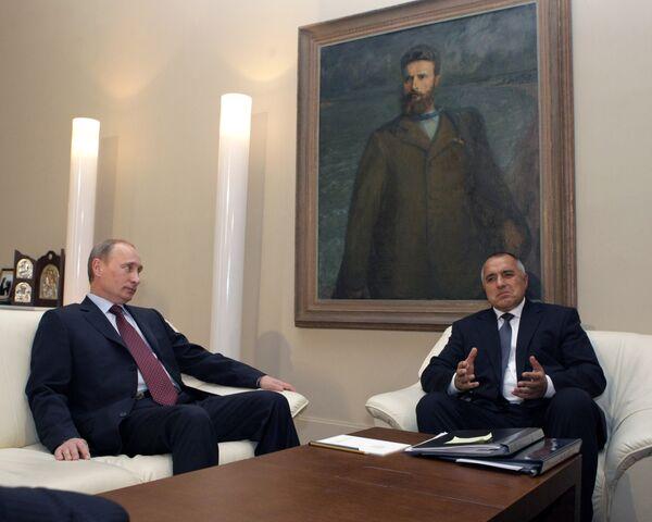 Премьер-министр РФ Владимир Путин прибыл в Болгарию