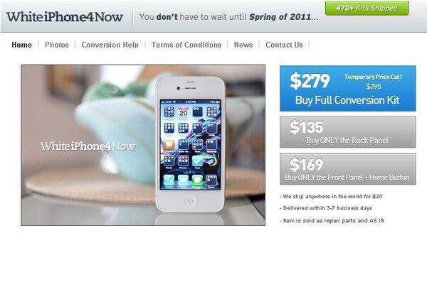 Онлайн-магазин WhiteiPhone4Now