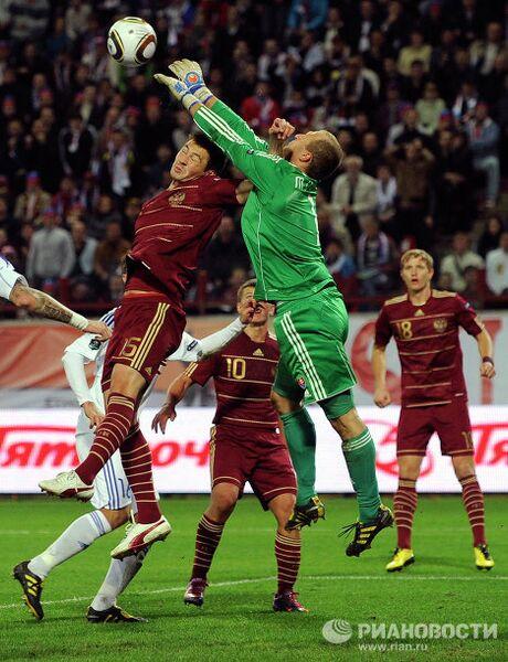 Футбол. Отборочный турнир чемпионата Европы по футболу. Матч Россия – Словакия - 0:1