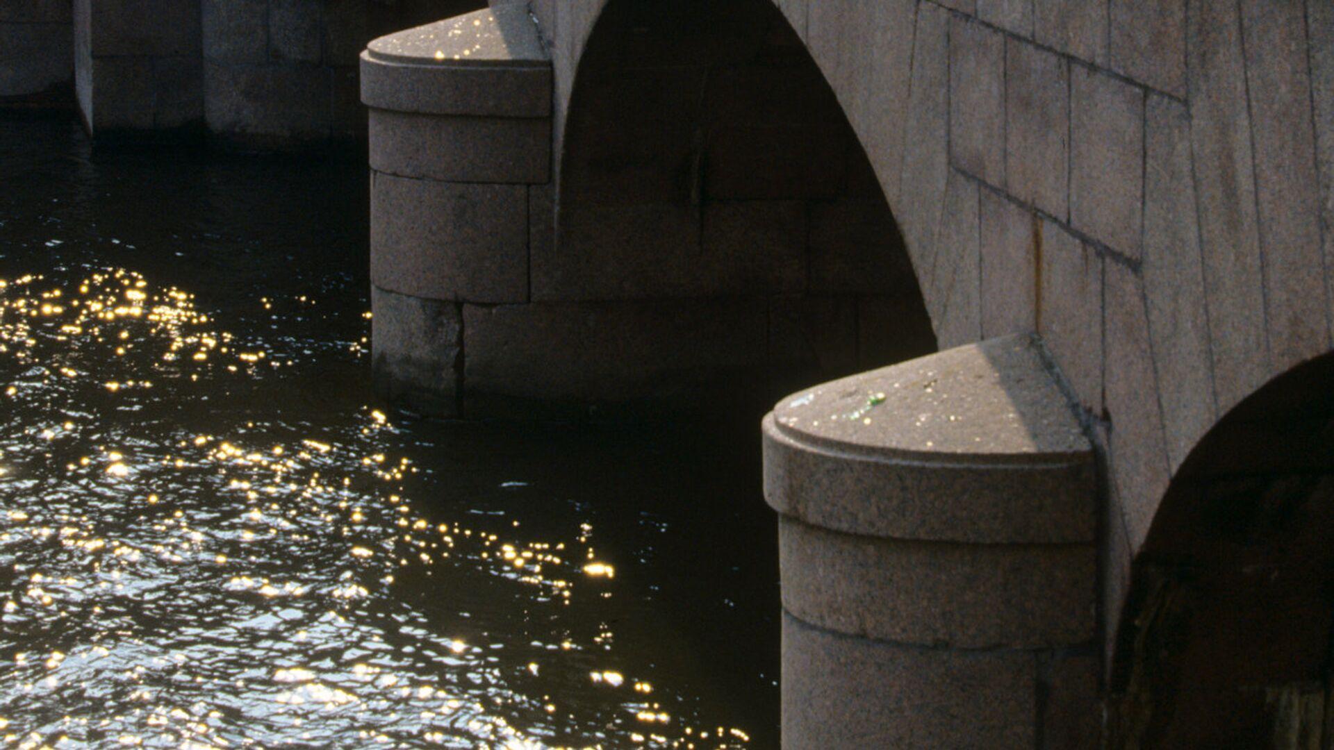 В Петербурге теплоход врезался в опору Аничкова моста