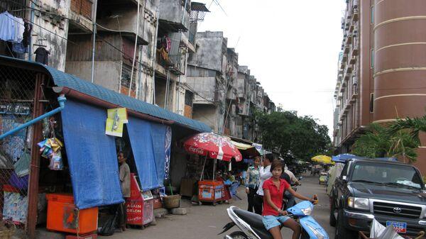 На улицах Пномпена