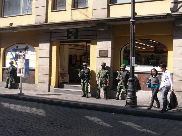 В Мексике приняты беспрецедентные меры безопасности накануне саммита в Канкуне