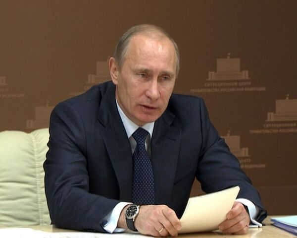 Путин недоволен работой губернаторов, задержавших выплаты селянам