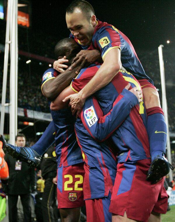 Футболисты Барслоны