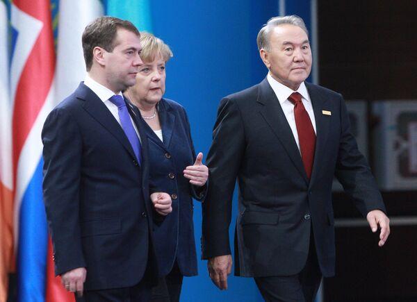 Нурсултан Назарбаев на саммите ОБСЕ в Астане