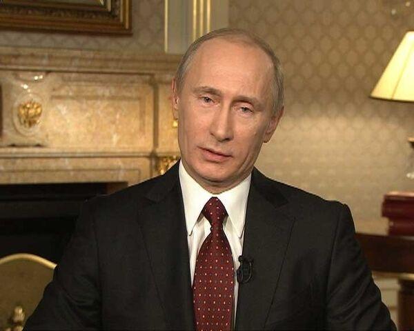 Ларри Кинг не смог ответить на вопрос Путина