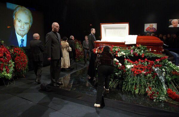 Прощание с телекомментатором Владимиром Маслаченко