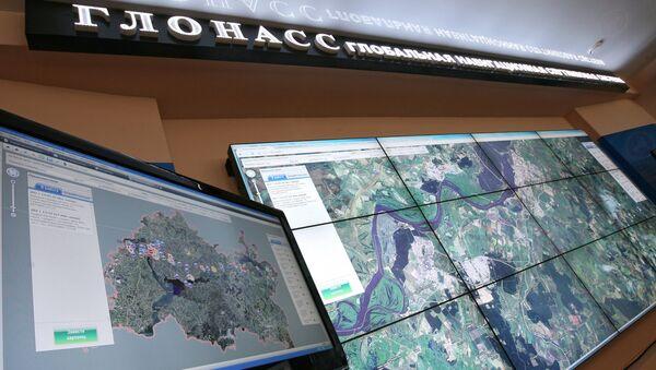 Работа системы ГЛОНАСС. Архивное фото