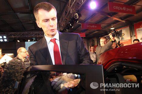 Презентация ё-мобиля для журналистов в Москве